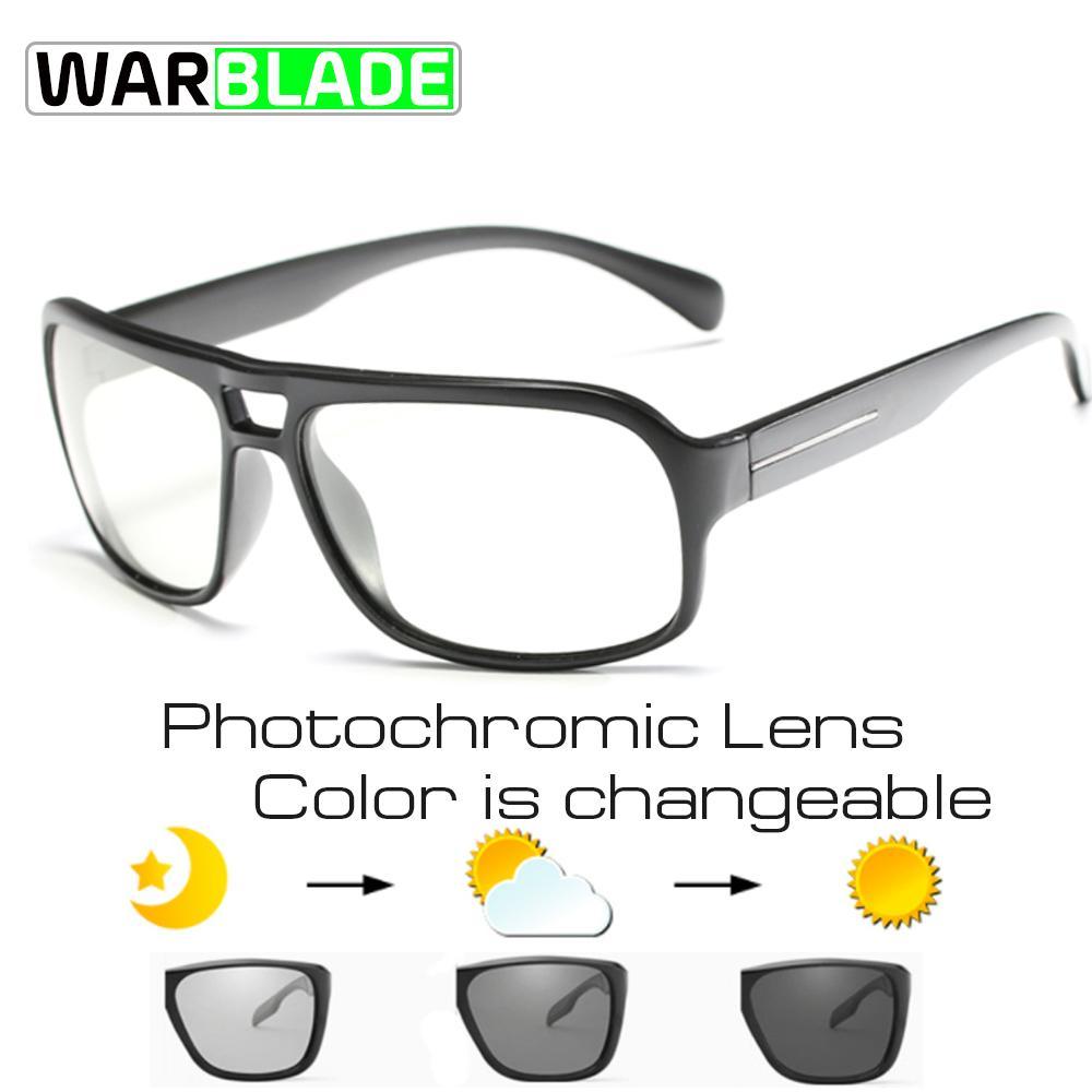 Gafas de sol fotocromáticas Mtb gafas de ciclismo polarizadas UV400 Gafas de bicicleta de montaña Pesca Senderismo Bicicleta Gafas deportivas WBL