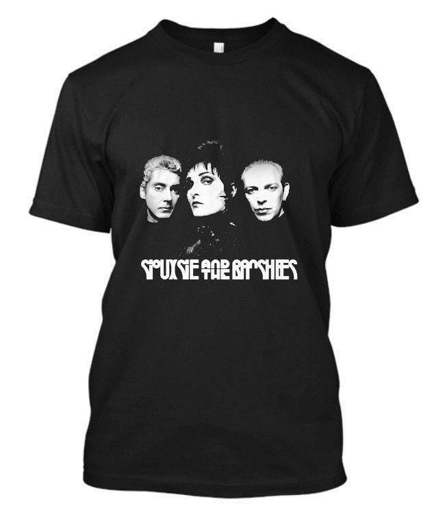 Siouxsie and The Banshees T Shirts Youth Short Sleeve Casual T-Shirts Tops for Boy Girl