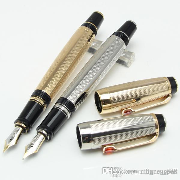 Luxe mode métal 4810 plume moyenne convertisseur d'encre stylo bureau scolaire