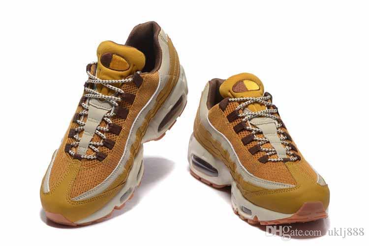 2018 новых мужчин Бегун обувь 95 мужчин 95 OG подушка военно-морской Спорт высокое качество Chaussure 95s ходьба Сапоги Кроссовки размер 40-46 США 7-12