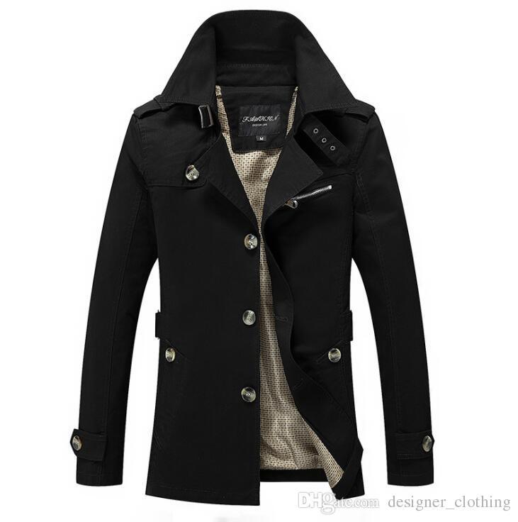 Windbreaker 2021 мужской размер мужская длинная ветровка куртка большие новые новые пальто верхней одежды дизайнерский траншеи