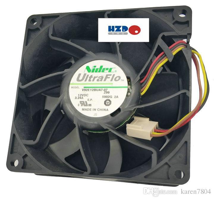 NIDEC v92e12bua7-07 9238 12v 3.24a 냉각 팬