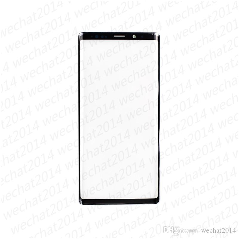 20PCS OEM Front Outer Touch Screen Glass Lens Replacement for Samsung Galaxy Note 9 N960 N960A N960F free DHL