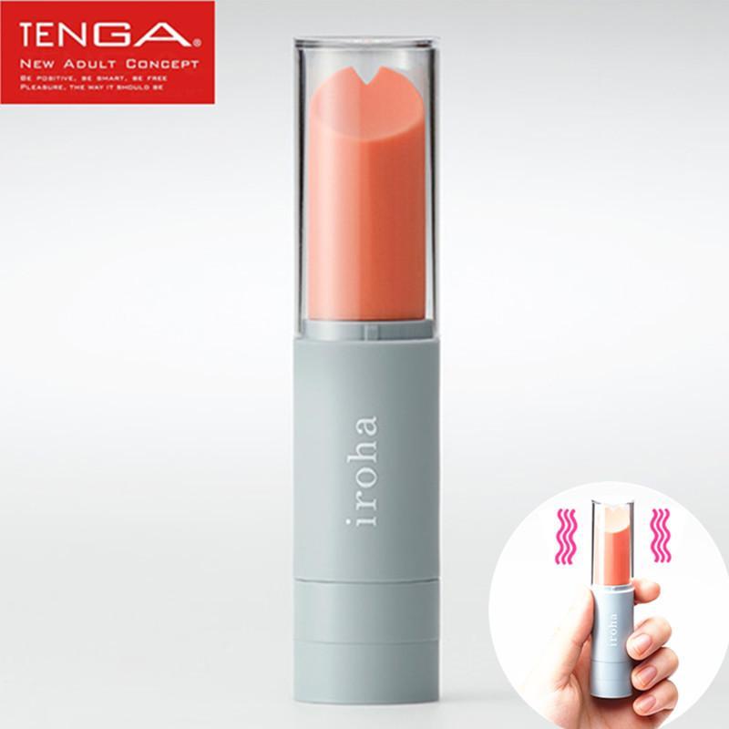 Tenga Iroha Lipsick Vibe Discreet Mini Bullet Vibrator Vibrating Lipsticks Jump Eggs Adult Sex Toys Products For Woman Clit Y1893001