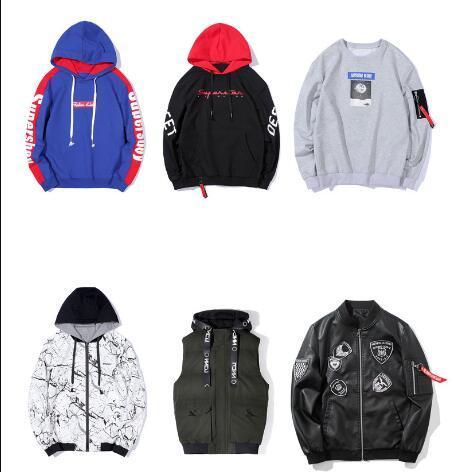 Großhandel Herbst Winter Herren Designer Hoodies Mode Lose Kapuzenpullover Oversize Pullover Langarm Bestickt Gedruckt Jugend Casua Kapuze Von