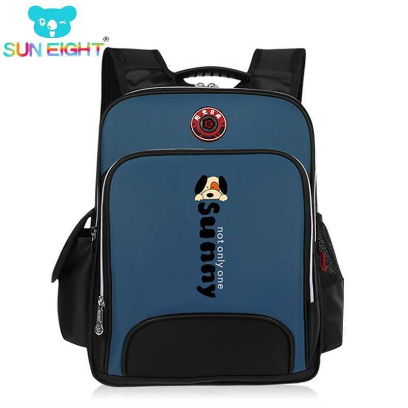 Nylon School Bag Outdoor Package Book Bag Boys Girls New Kids Blue Green Black