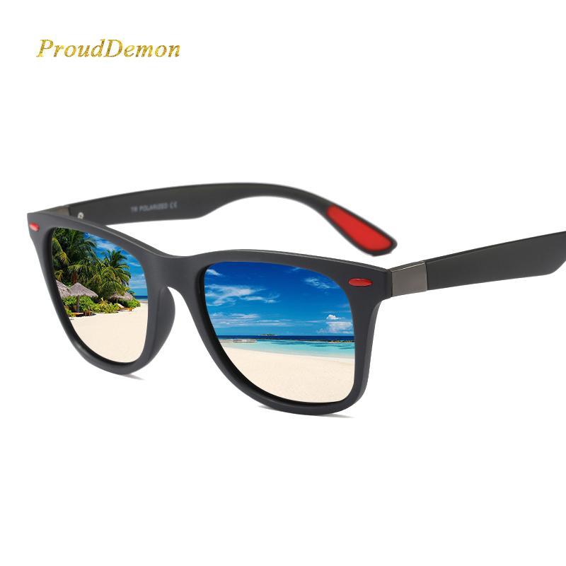 venta al por mayor DISEÑO DE LA MARCA New 2018 gafas de sol polarizadas clásicas hombres que conducen gafas de sol del marco TR90 Gafas masculinas UV400 Gafas de sol