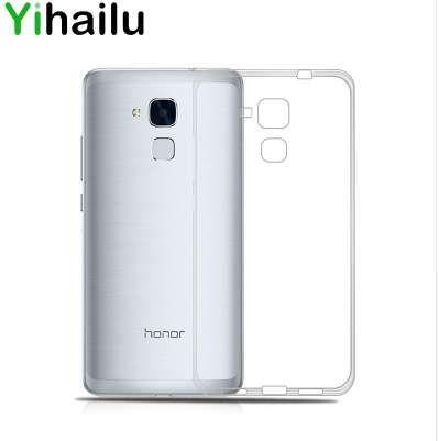 Для Huawei Honor 7 Lite Case Cover тонкий TPU Case для Huawei Honor 5C Cases мягкий TPU силиконовый прозрачный телефон задняя крышка
