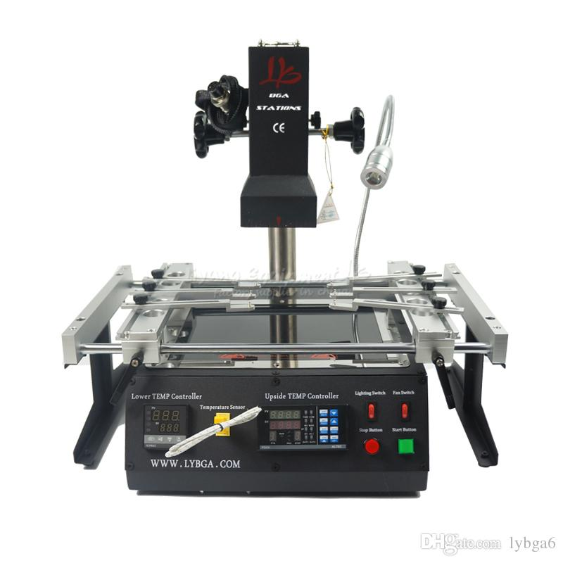 LY IR6500 V.2 infrared bga rework station, laptop motherboard bga repair machine,with pcb jig