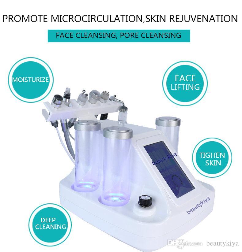 Hydra Dermabrasion RF BIO Lifting Spa الوجه آلة الجلد العلاج هيدرا جلدي الأكسجين رذاذ اللوازم الطبية آلة