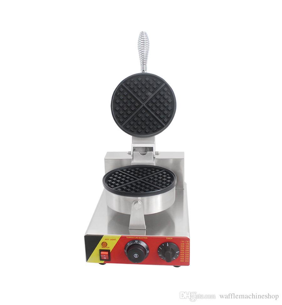 Machine à cône de gaufres à une tête, mini-crème glacée électrique à cônes de gaufres à gaufres