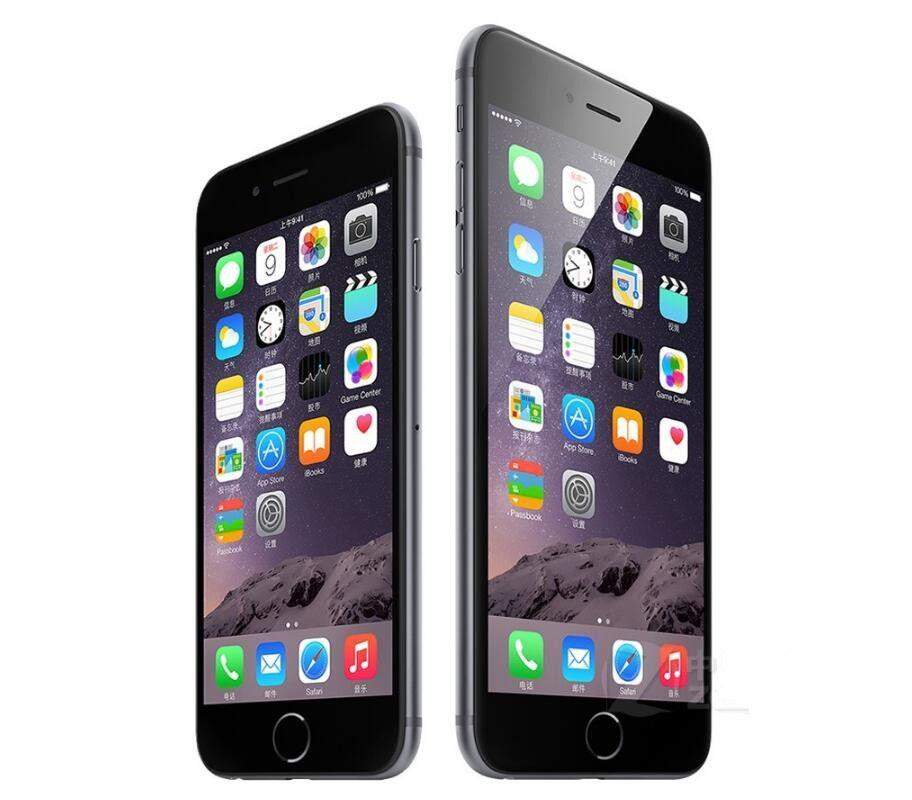 Reconstruido desbloqueado Apple iPhone 6 Plus con huella digital RAM 1 GB ROM 16/64 / 128GB IOS Dual Core 8MP / Pixel 4G LTE Teléfono