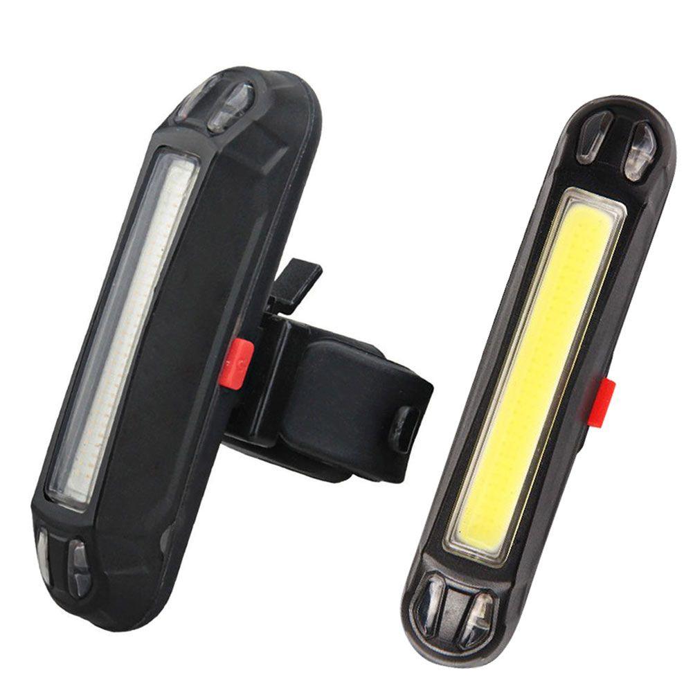 Bisiklet Uyarı Işıkları COB Arka Bisiklet Işık Arka Lambası Emniyet Uyarı USB Şarj Edilebilir Bisiklet Kuyruk Comet LED Lamba
