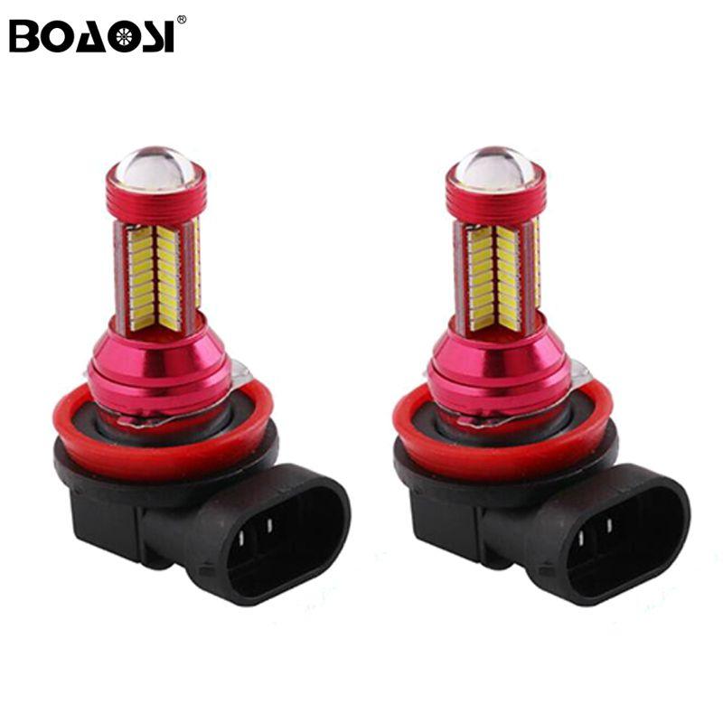 H11 H8 9006 HB4 4014 78SMD LED ampoule sans brouillard d'ampoule