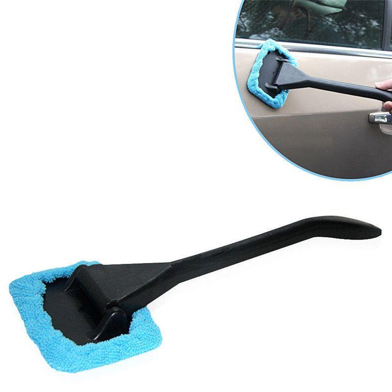 Pára-brisa de Microfibra Mais Limpo Janela Do Carro Escova Auto Veículo Longo Lidar Com Limpador De Vidro Escova De Limpeza Escova Brisa Cuidados Com o Limpo Removedor de Poeira