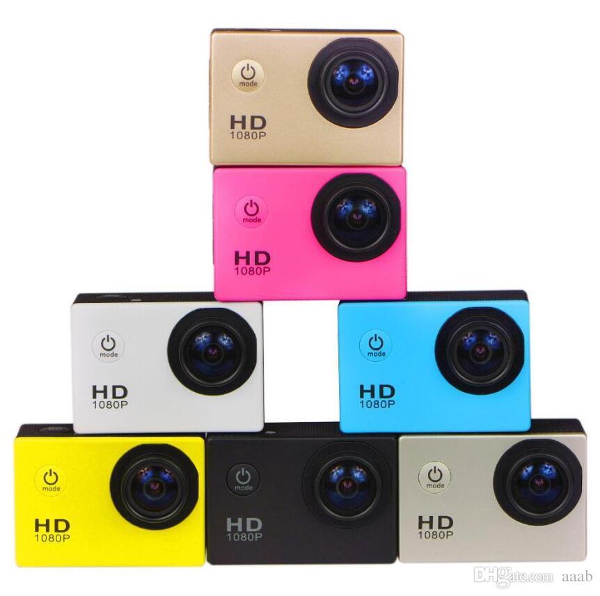 120pcs 1080P Sports DV SJ4000 2 Inch 12Mega Pixels Full HD Helmet Camera Camcorder HDMI H.264 Car DVR 30 meters underwater 6 colors