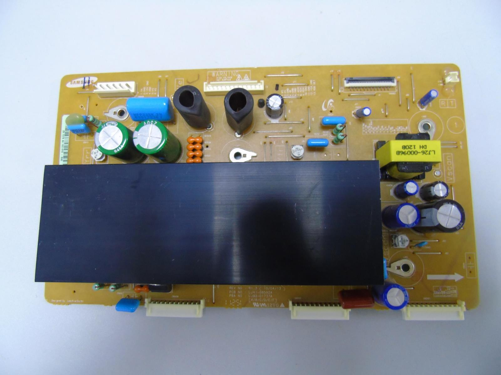 Livraison Gratuite Testé Travail Utilisé Original 42U2P_Y-Conseil Principal TV Board Pour Samsung LJ41-08592A LJ92-01737A S42AX-YD13 YB09 PT42638NHDX