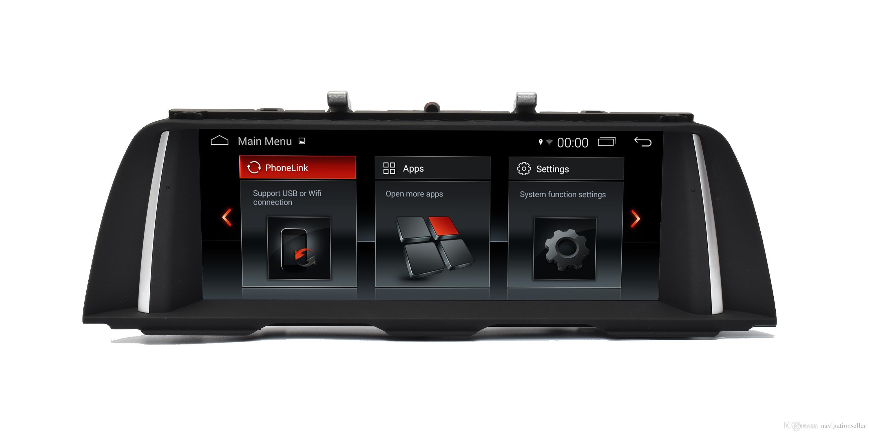 1280*480 HD 10.25 INCH screen Car DVD GPS Navigation for BMW 5 Series F10 original 6.5 Or 8.8 screen LVDS 4PIN CIC 2010-2012