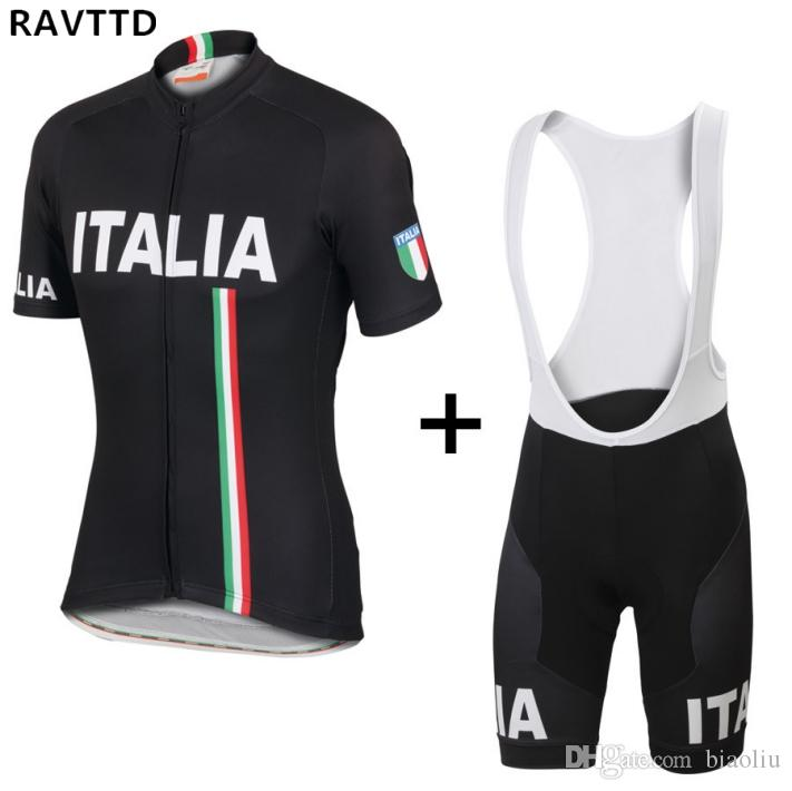 Italy Pro Cycling Clothing Summer Racing Bike Jersey Maillot Ciclismo Breathable Racing Bicycle Clothes Gel Pad