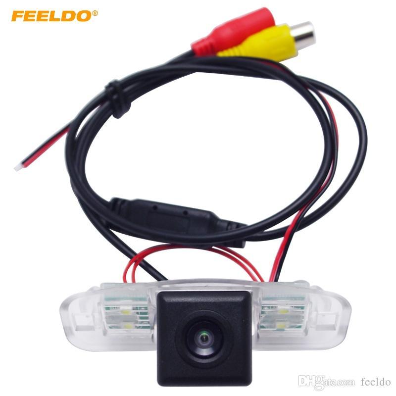 Feeldo dell'automobile HD CCD Rear View Camera per Honda Accord luglio 2-07 / Accord 03-05 agosto parcheggio di sostegno di Camera # 3993