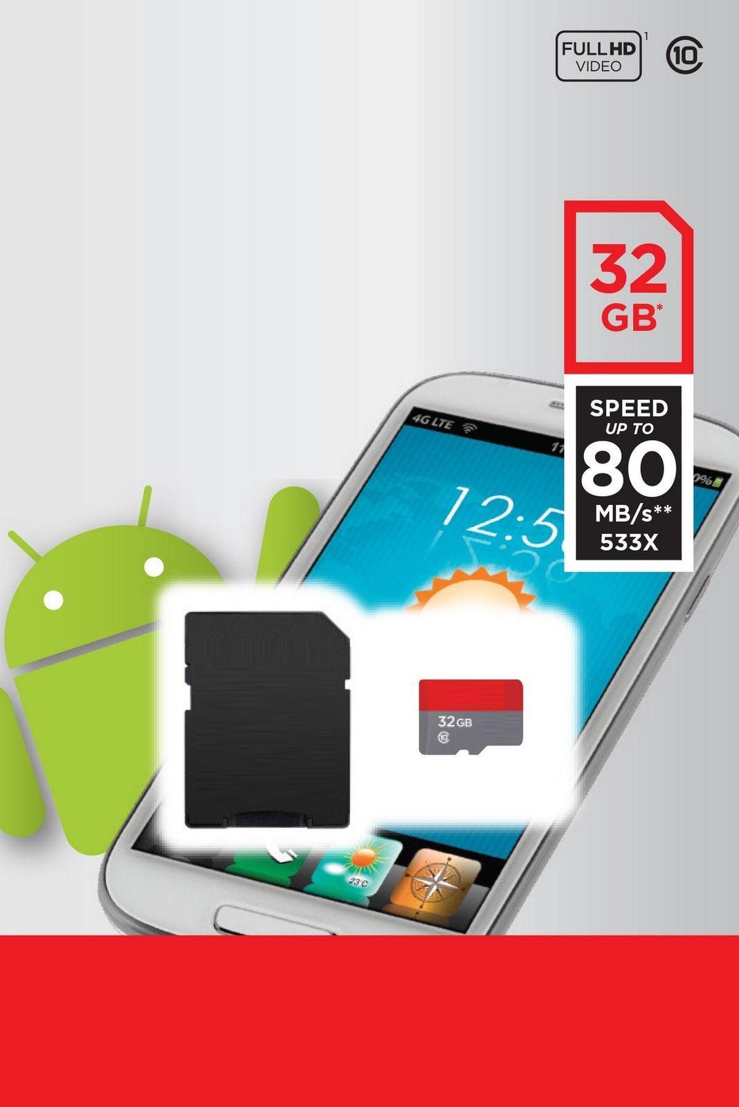 2020 Venta caliente Blanco A1 100mbps Teléfono Android 16GB 32GB 64GB 128GB Clase 10 Tarjeta de memoria 256GB UHS-1 UHS-I U1 TF Tarjeta SD
