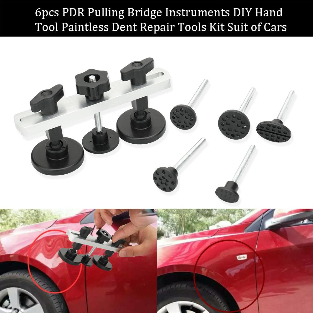 1Set New Design Car Dents Repair Tool Pulling Bridge Dent Removal Hand Tool Set