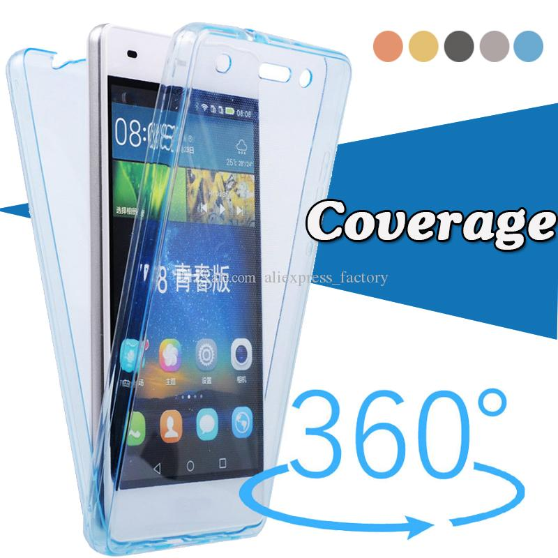 Cover Custodia 360 Gradi Full Body Trasparente per HUAWEI P SMART 2019
