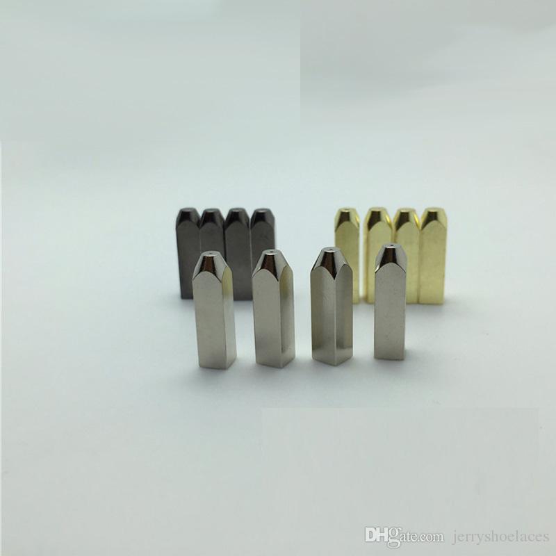 1 Компл. Металл Agelts Новая Мода DIY Обувь Украшения Стильная Сменная Головка Для Шнурков Высокое Качество