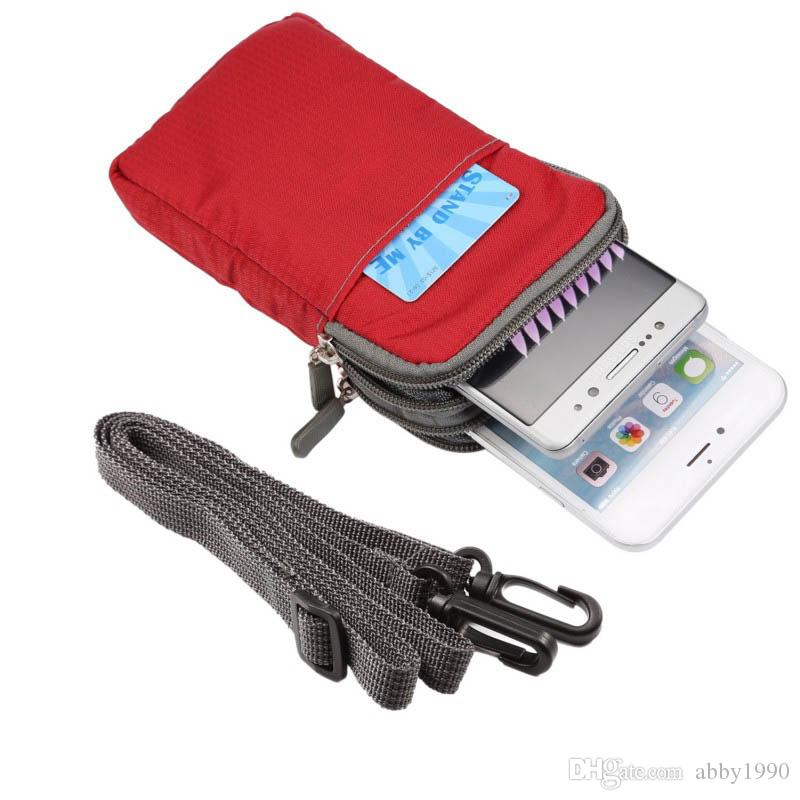 Étui universel pour sac de sport à clip de ceinture multifonctionnel pour A6 / A6 Lite / A2S / Spark / A602 / Z10 / V8 Pro / A610 Plus / A2 Plus / V580 de ZTE