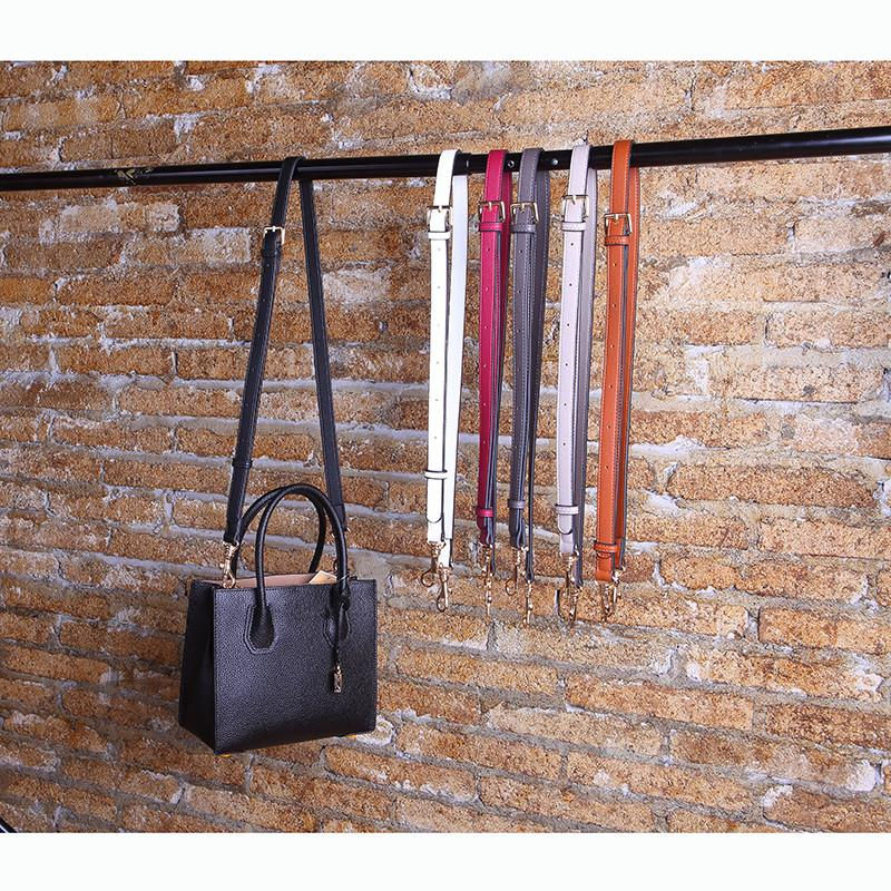 Adjustable DIY Replacement Leather Bag Shoulder Strap Handle Cross Body 120cm