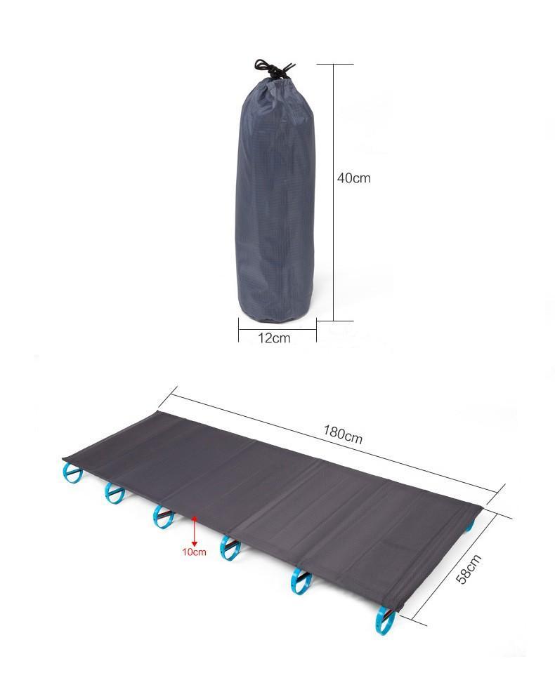 Compre El Indio Portable Ultraligero Plegable Cama De Campamento ...