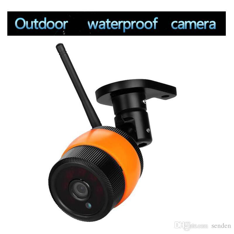 Водонепроницаемый Крытый Открытый беспроводной Wi-Fi IP-камера 720P 1080P камеры с ночного видения обнаружения сигнала тревоги монитор Поддержка карт памяти CCTV DVR