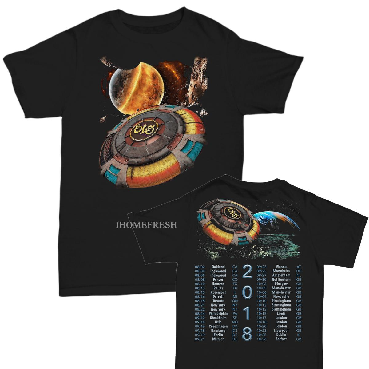 ELO 2018 Konser Turu T-Shirt, Beden S-6X