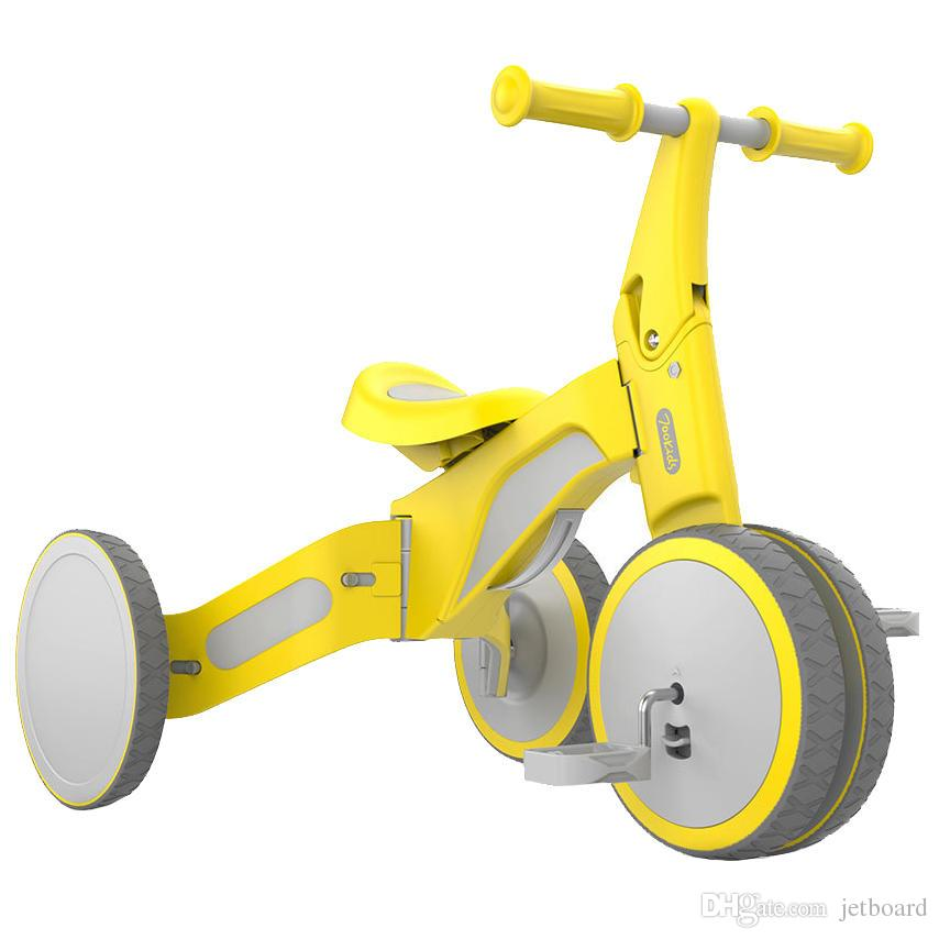 Xiaomi 700Kids TF1 Child Deformable Balance Car Tricycle Ride and Slip Dual Mode Bike walk scooter