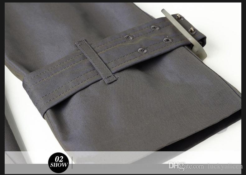 Acheter Bonne Qualité Longue Tranchée Manteau Femmes Printemps Automne Mode Lâche Survêtement Couleur Changeante Fluorescent Étanche Tissu Manteaux