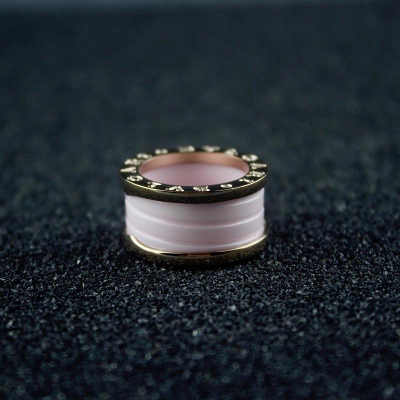 Женщины Розового Керамика Кольцо Женщина партия Свадьбы Кольцо Dropshipping