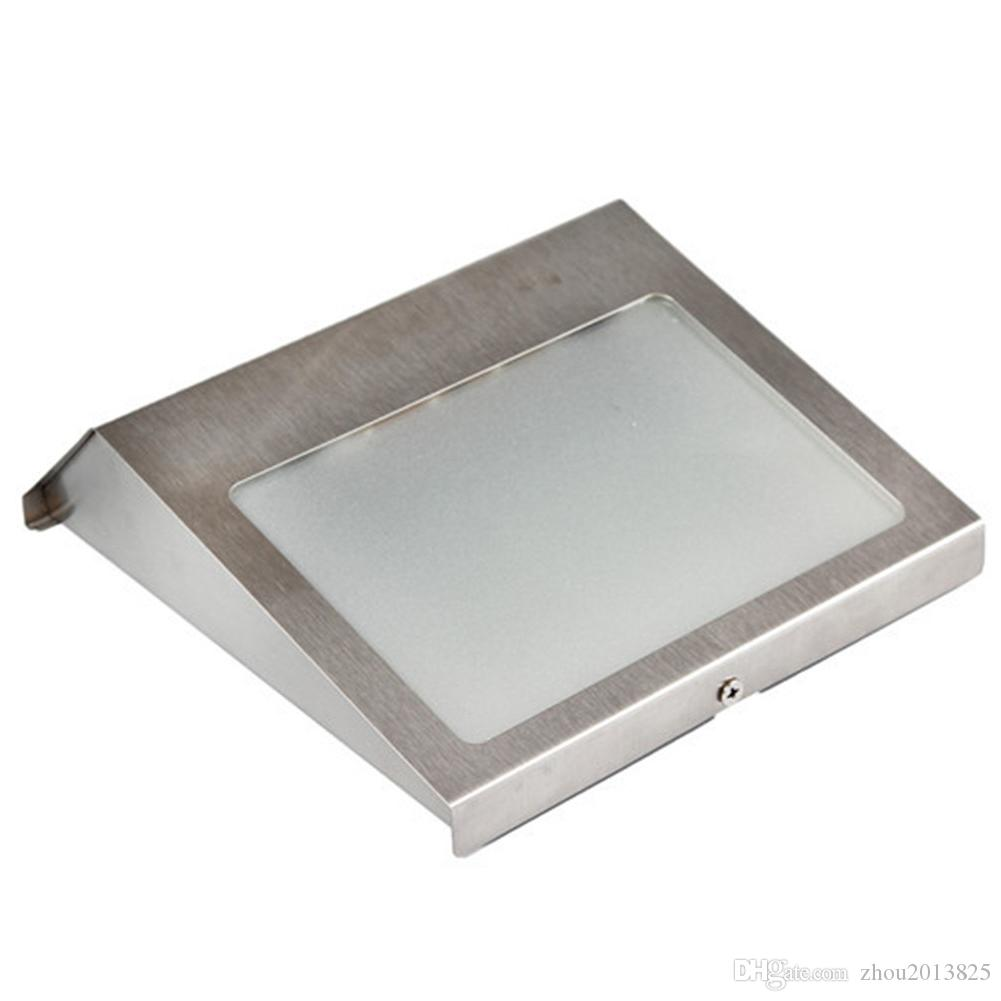LED solar house lights, household stainless steel waterproof solar wall lights Door lights for fence wall door