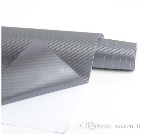 3d ألياف الكربون الفينيل سيارة التفاف احباط ألياف الكربون سيارة الديكور ملصقا الداخلية كثير خيار اللون diy سيارة التصميم
