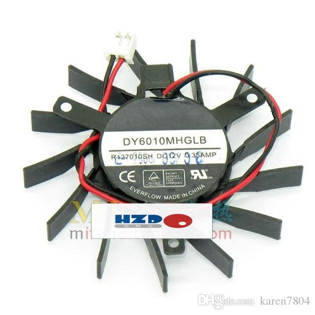 الأصلي DY6010MHGLB R127010SH 12 فولت 0.35A قطرها 60 ملليمتر الملعب 39 ملليمتر 2 خطوط بطاقة الرسومات مروحة mb60101v3-000c-f99 6010