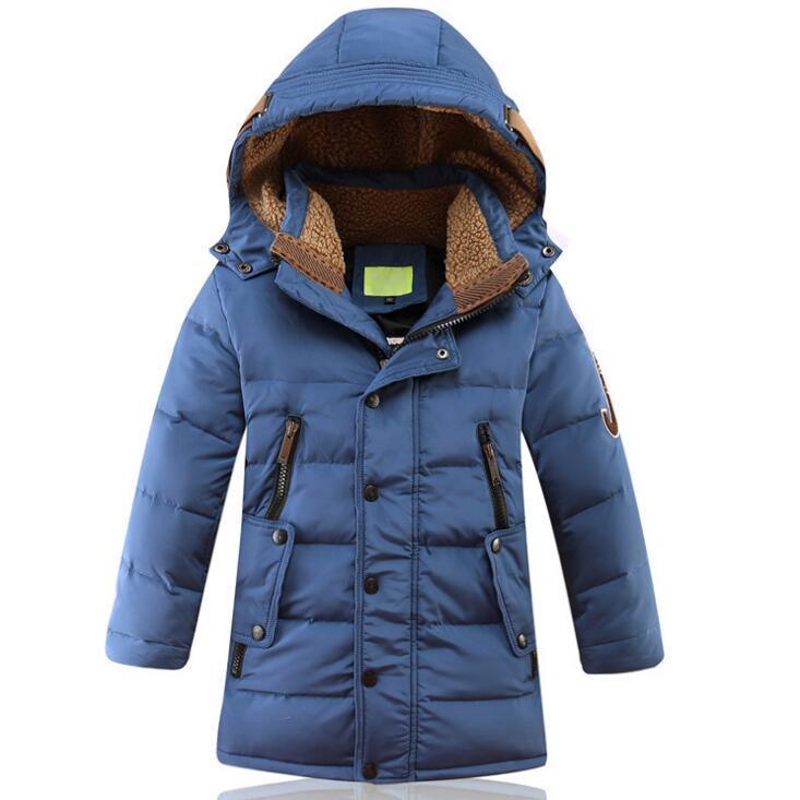 2017 New fashion Children white Duck Down Jackets parkas casual long kids winter warm coats boys girls ski outwear for 5-14Years