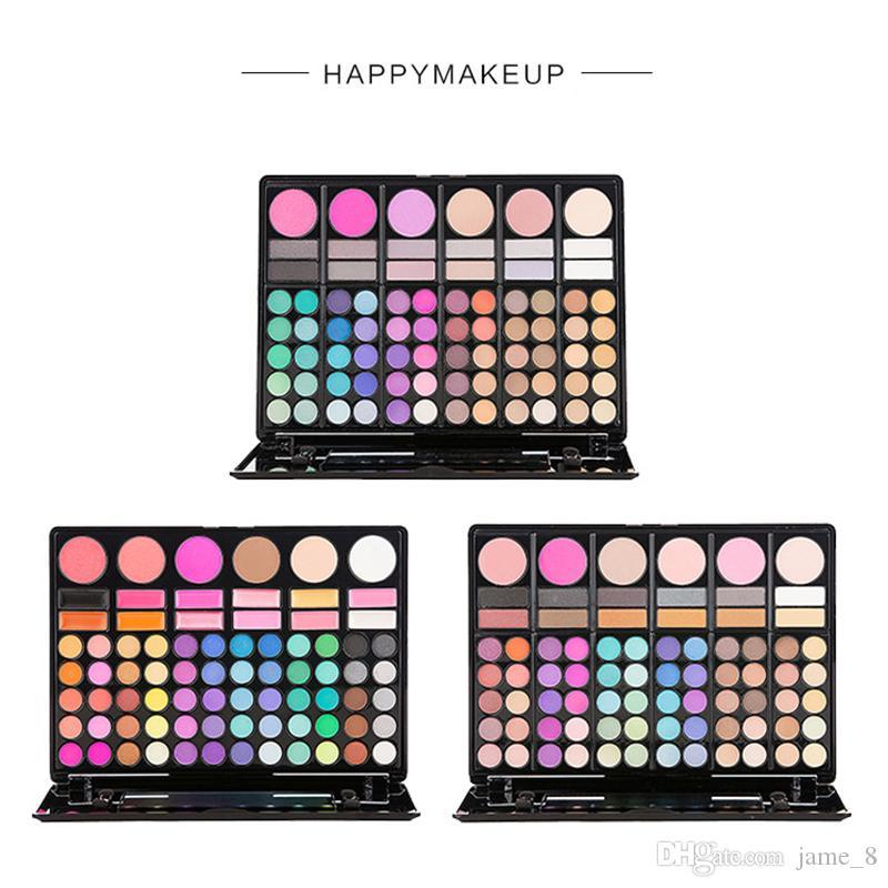 Eyeshadow Paltte Eye Shadow 78 Color Concealer Contour Lip Gloss Makeup Set مجموعة مستحضرات التجميل المقاومة للماء