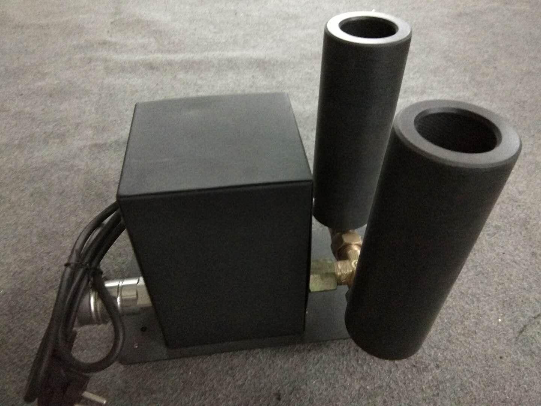 2pcs / lot 더블 노즐 CO2 제트 기계 LED 무대 CO2 제트 DMX 뜨거운 판매 스테이지 효과 이산화탄소 기계