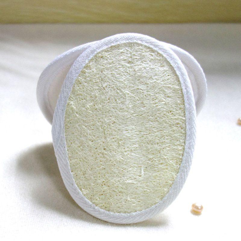 12 * 9 cm Cepillos de baño Natural Loofah Pad Bath Loofah Bed Bath And Beyond Loofah Pad Esponja Home Hotel Tool Free DHL WX9-432