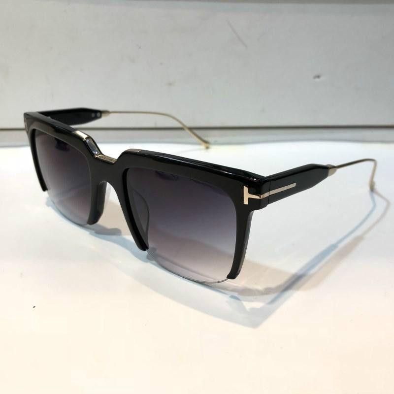0543 lunettes de soleil de luxe hommes concepteur de mode cadre carré protection UV lentille populaire été lunettes de soleil de qualité supérieure qualité viennent avec étui