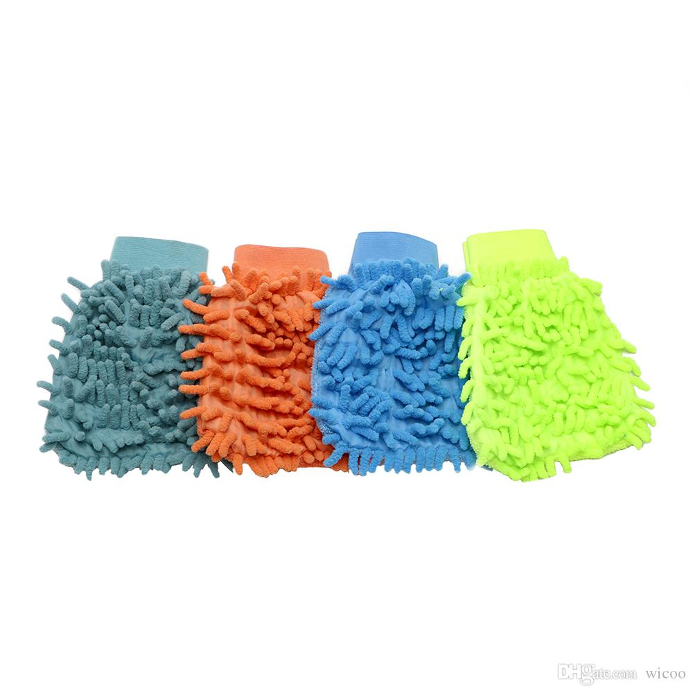 Car Cleaning Drying Gloves Ultrafine Fiber Chenille Microfiber Window Washing Tool Home Cleaning Car Wash Glove Auto Accessories