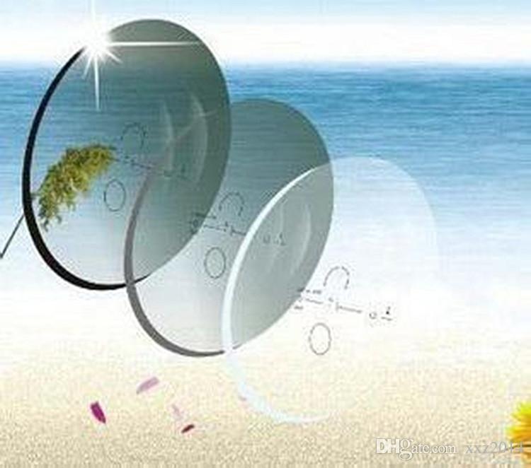 RX-Lens фотохромная прогрессивная линза 1.56 HMC + EMI 12mm14mm коридор мути-фокус мути-фокус рецептурные очки для оптических солнцезащитных очков