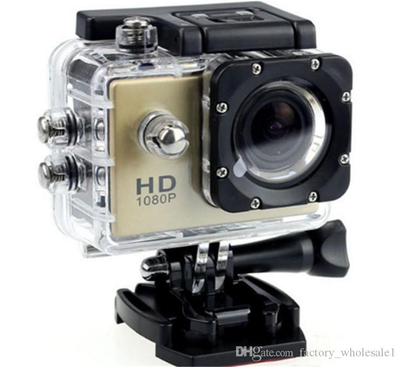2017 새로운 방수 2.0 인치 LCD 스크린 SJ4000 작풍 1080P 가득 차있는 HD 비디오 촬영기 헬멧 스포츠 DV 30M 활동 사진기 대 SJcam는 직업적 간다