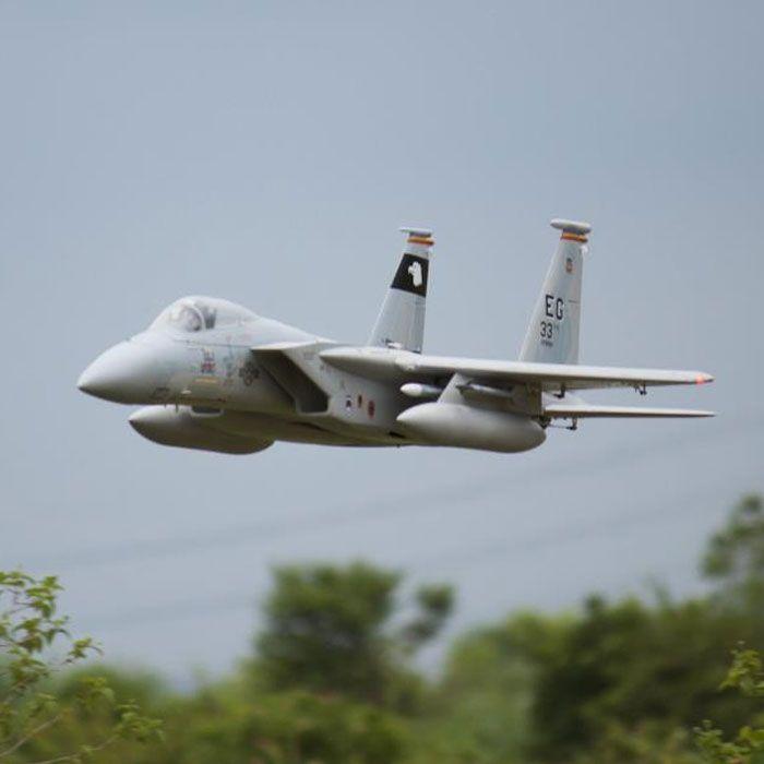 Freewing New Electric RC Jet F-15 F15 Aereo 90mm Metal EDF Aereo 6s PNP o kit + Servo Aereo retrattile / RC Model Hobby