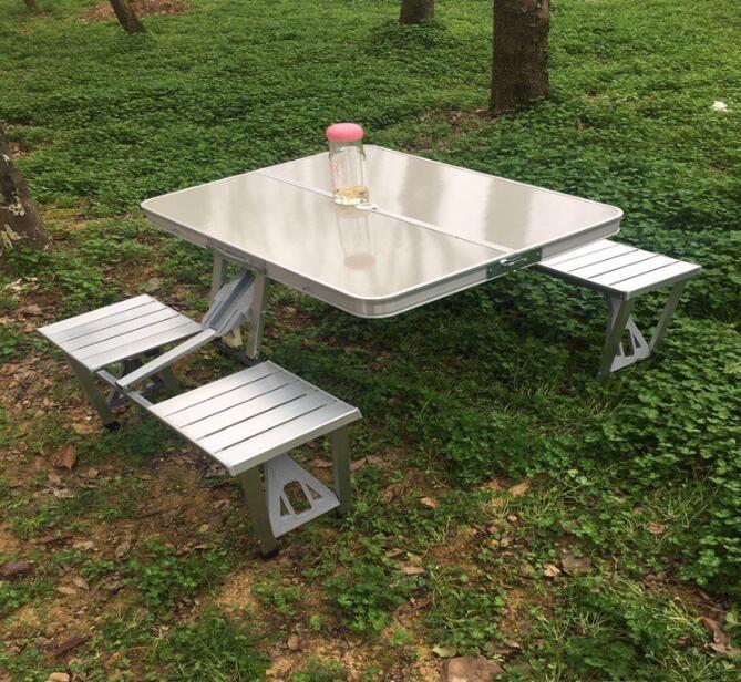 Tavolo Da Campeggio Con Sedie.Acquista Tavolo Da Picnic 4 Persone Tavolo E Sedia Da Campeggio