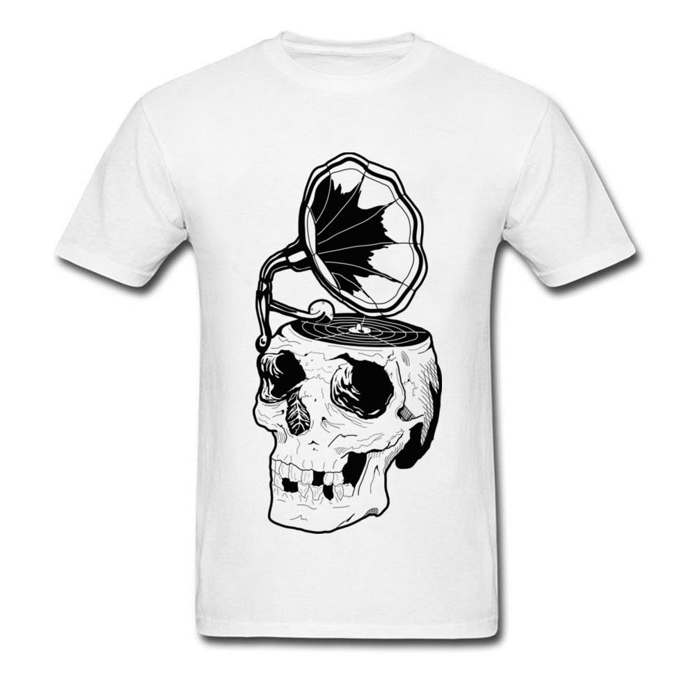 Registro quebrado 100% Algodão Tops Tees para Homens Casual T-Shirt de Impressão Da Marca Gola Redonda T-shirt de Manga Curta